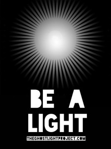 Be a light poster - The Ghostlight Project