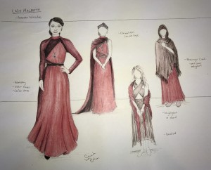 Lady Macbeth costume design