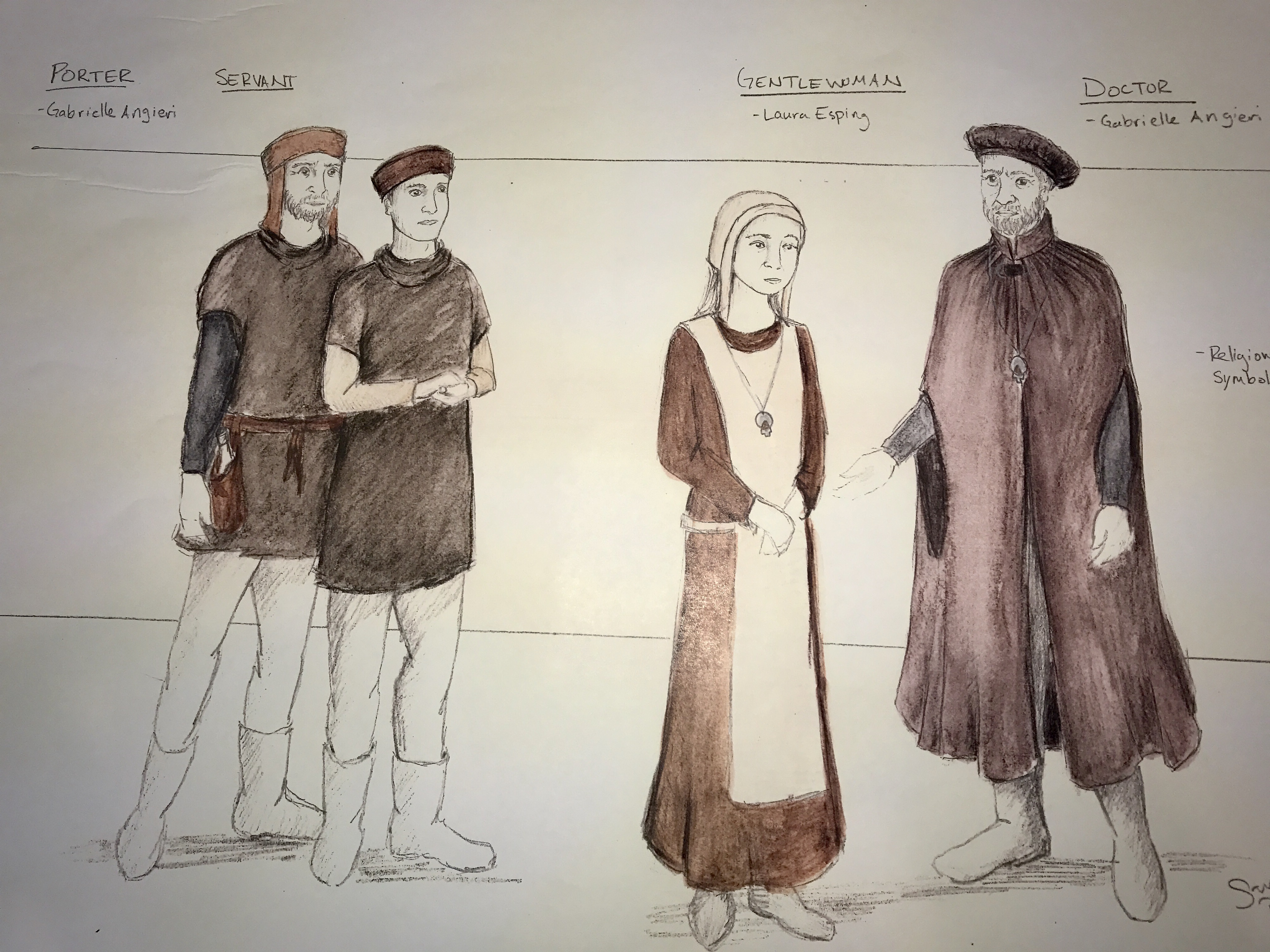 Costume Design Character Analysis : King duncan park square theatre