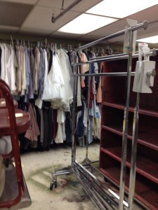 Costumes in Storage
