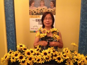 Ting, Honorary Calendar Girl