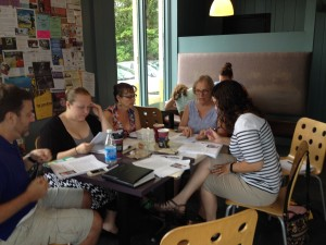 Educators met during the summer to create the study guide for Flower Drum Song (Photo by T. T. Cheng)