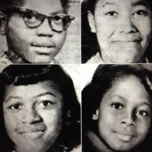 Top l to r: Adie Mae Collins (14) and Denise McNair (11) Bottom l to r: Carole Robertson (14) and Cynthia Wesley (14)