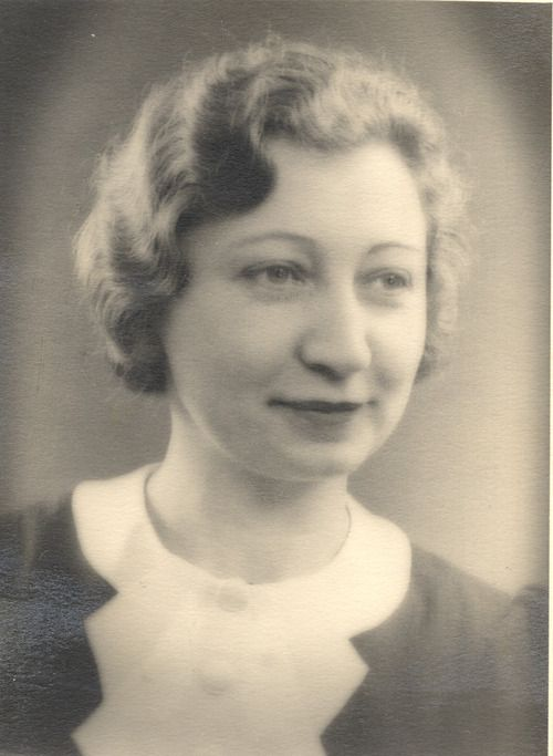 Black and white photograph of Miep Gies.