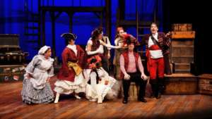 Cast of Pirates of Penzance at Park Square Theatre in Saint Paul, Minnesota - 2018