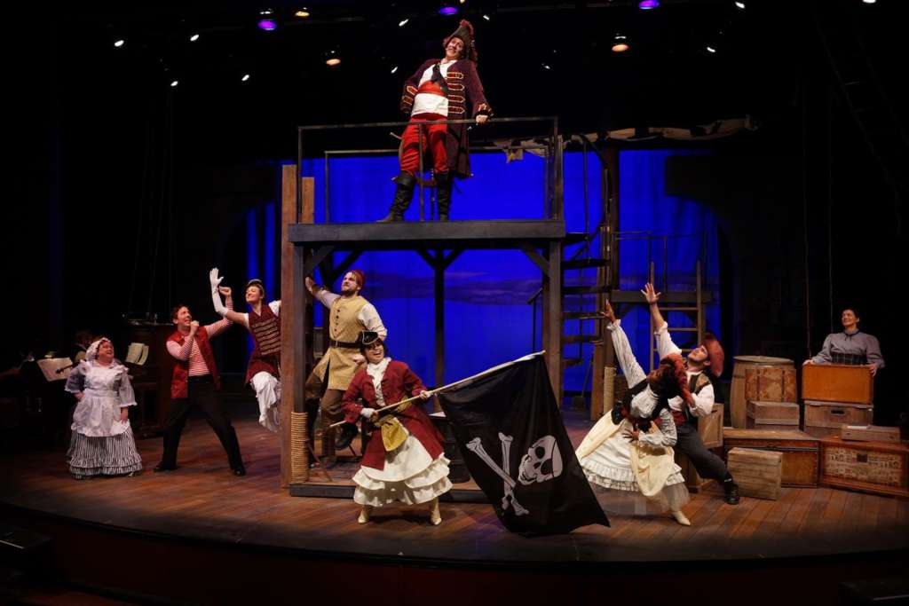 The fresh and imaginative Pirates of Penzance at Park Square - 2018