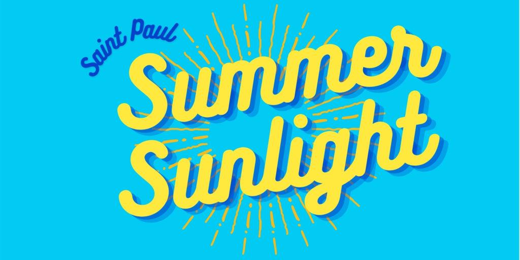 Saint Paul Summer Sunlight