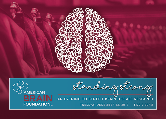 Standing Strong: An Evening to Benefit Brain Disease Research