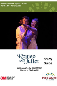 Downloadable PDF Study Guide for Romeo and Juliet at Park Square Theatre