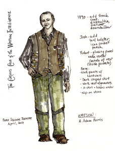 Watson Costume