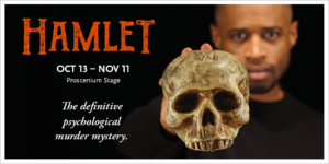 Hamlet at Park Square Theatre in Saint Paul, Oct 13 - Nov 11, 2017