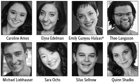 photos of the snow queen cast members
