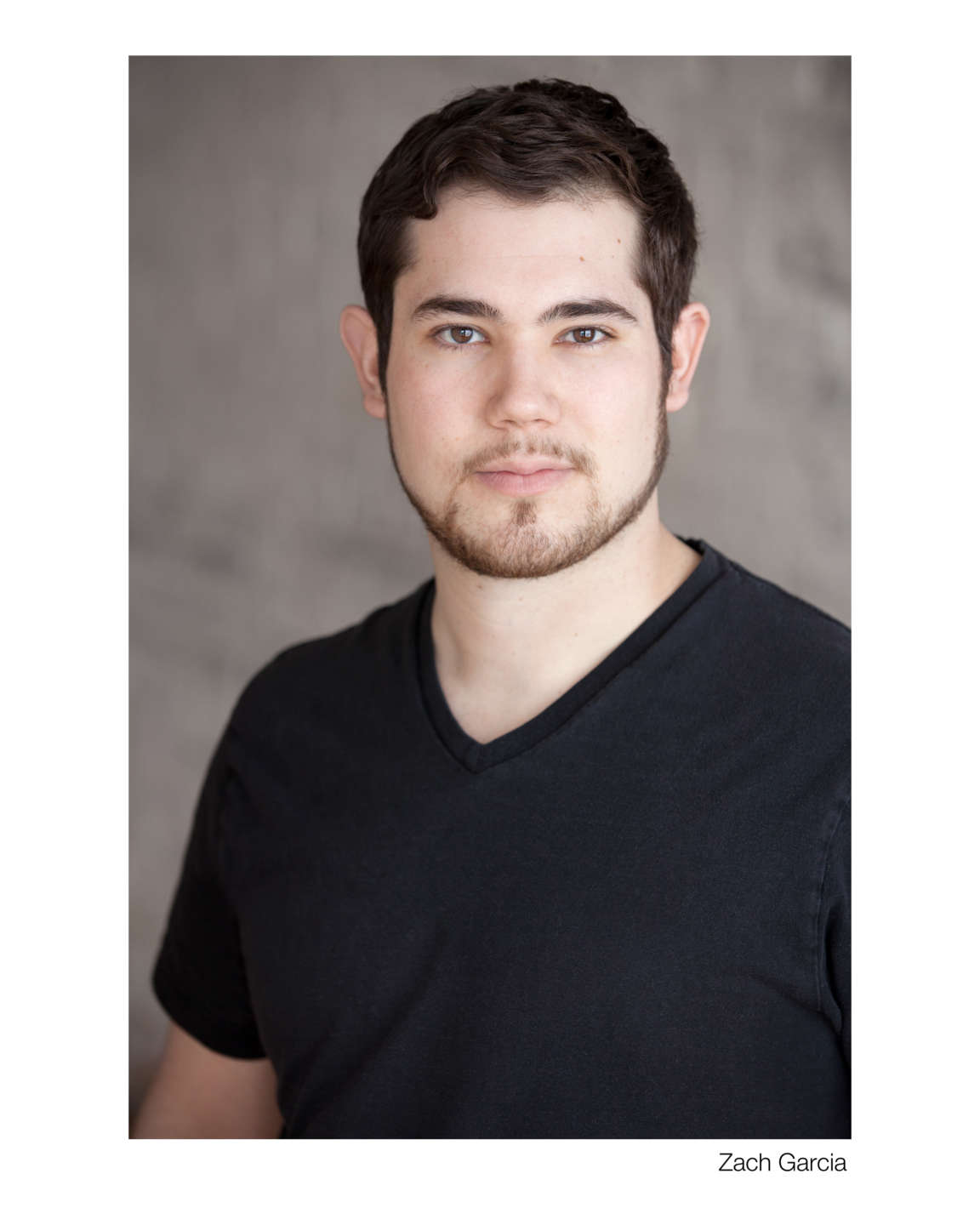 Headshot of actor Zach Garcia