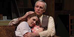 The Diary of Anne Frank at Park Square Theatre in Saint Paul, MN - 2018 - Actors playing Anne Frank & Father