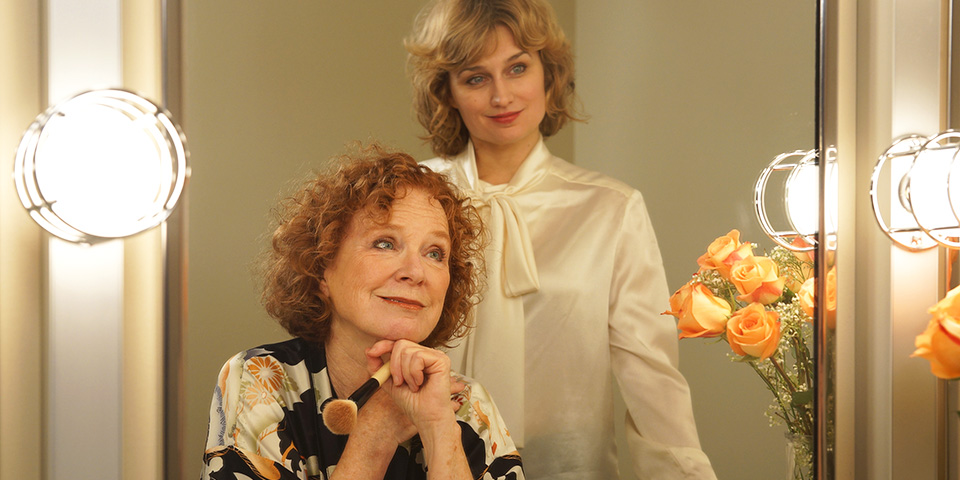 Linda Kelsey and Tracey Maloney in Amy's View at Park Square