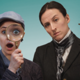 A female duo of Holmes and Watson are on the case!