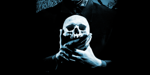 Skull in Hands - Shakespeare's Hamlet at Park Square Theatre in Saint Paul, Minnesota