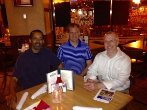 Jon Thomas, Eric Larson and Peter Erickson