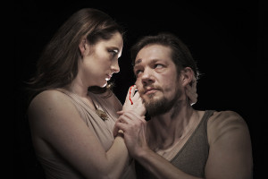 Vanessa Wasche (Lady Macbeth) and Michael Ooms (Macbeth) (Photo by Petronella J. Ytsma)