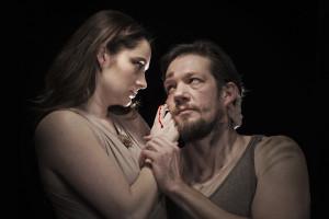 Vanessa Wasche (Lady Macbeth) and Michael Ooms (Macbeth) (Photo by Petronella J. Ytsma)