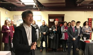 David Henry Hwang joined us for the opening night of Flower Drum Song (Photo by Connie Shaver)