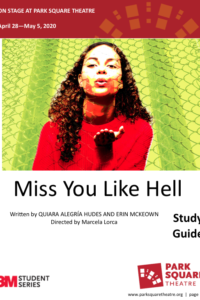 Park Square Study Guide for Miss You Like Hell