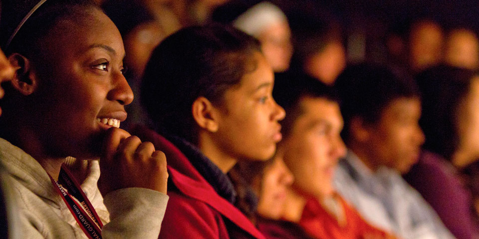 Student Audience at Park Square Theatre