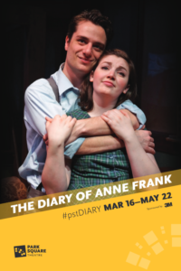 Playbill cover - The Diary of Anne Frank - 2020